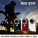 youtube-friendlybig eye multifunctionele draagbare mini dv 5.0mp buitensporten camera camcorder (metalen behuizing) (dce177)