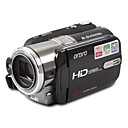 Full HD 1080p digitale video-camcorder met een 3,0 inch TFT LCD, 5x optische zoom en 20x totale zoom (smq5630)