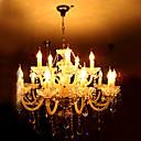Candle Crystal Chandelier with 15 lights (Chrome Finish)