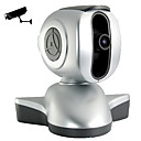 IP Surveillance Camera with Angle Control and USB Webcam Server
