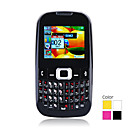 B3210 Dual Card Quad Band Dual Camera QWERTY Keypad TV Ultra Thin Flat Touch Screen Cell Phone (2GB TF Card)(SZ05450465)