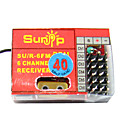 Sunip FM 40 MHZ 6 Channel Radio Receiver For Plane(H290409304139)