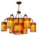 Elegant Kelken 6-light Hanging Chandelier(0860-D-8806-6+4)