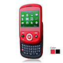X3 Quad Band Dual Card JAVA Bluetooth TV WIFI Blutooth Flashlight QWERTY Keypad Slide Cell Phone (2GB TF Card)