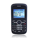 Q10 Quad Band Dual Card Dual Standby QWERTY Keypad Bar Cell Phone Black (2GB TF Card)