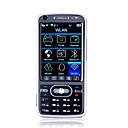 T168 java wifi de banda cudruple doble tarjeta bluetooth fm de doble cmara de televisin de pantalla tctil telfono celular negro (tarjeta de 2GB T