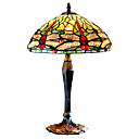Tiffany-style Red Dragonfly Table Lamp(0923-T47)