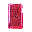 Pearly Lustre Protective Backside Case Cover for iTouch 2G/3G (Red)