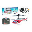 3CH RC Helicopter With Gyro Digital Infrared Radio Remote Control Helicopters Indoor Toy(Red)(YX02679R)