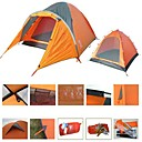 Three-Person Double Layers Backpacker Tent(0956-05.31-HW-49)