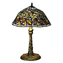 Tiffany-style Red Dragonfly Table Lamp(0923-T3)