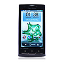 X10 GPS WIFI Dual Card Dual Camera TV 3.8 Inch Touch Screen Cell Phone Black(2GB TF Card)