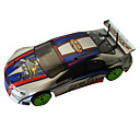 1/10th Scale 4WD Nitro Powered On-Road Racing Car Blue&Silver (TPGC-1085BS)