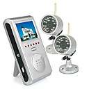 2.4G Wireless Receiver System and 4PCS Security CCTV 1/3Inch 2.4GHz Wireless CMOS Camera