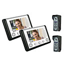 Second Three 7 Inch Color Video Drag Doorbell