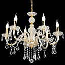 Candle 6-light K9 Crystal Chandelier(0944-HH11023)