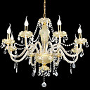 6-lumire de bougie k9 lustre de cristal (0944-hh11027)