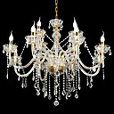 6-lumire de bougie k9 lustre de cristal (0944-hh11034)