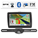 W 5 pulgadas con pantalla tctil gps / transmisor FM y Bluetooth con cmara (xh-05)