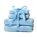 3 pc 100 Percent Cotton Single Color towel (0580 -0F757004)