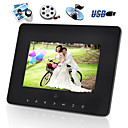 7 Inch Digital Multimedia Photo Frame w/ Remote Controller (DPF015)