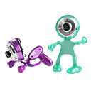 Homuncule-shaped Powerful Webcam for Laptop PC - 5.0 Mega Pixel - USB2.0 - No Driver (SMQ5707)