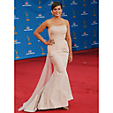 Trumpet/ Mermaid Strapless Court Trains Taffeta Tulle Emmy/ Evening Dress (WSH04161)