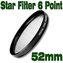 Emolux 52mm Star 6 Point Filter(SQM6025)