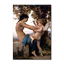 fille  la main se dfendre contre l'amour par William Adolphe Bouguereau (0192-ycf103602)