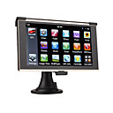 "6.2"" Portable HD Touch Screen Car GPS Navigator-4GB Memory-MS Office-Media-Games"