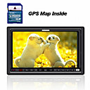 7-inch Touch Screen 2 Din In-Dash Car DVD Player  + Original Sygic GPS Map Card