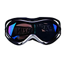 unisex double lays protect ski goggles with anti fog coating(0833-1806)