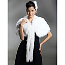 Faux Fur Bridal Special Occasion/ Wedding Shawl