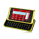 N98 WIFI TV QWERTY Dual Card Dual Camera Touch Screen Cell Phone Yellow(2GB TF Card)