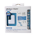 10-in-1 Portable Universal USB Power Adapter
