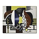 Stretched Handmade   Still Life, 1928 leger  painting by Fernand Leger (0192-YCF104051)