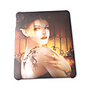 Oil Painting Hard Case for Apple iPad  (Tattoo Woman Pattern)