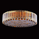 13-light Gold Color Bright Chrome K9 Crystal Ceiling Light (1069-J9854-X13)