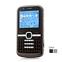 E5-TV Three Card Quad Band TV QWERTY Dual Camera Bar Cell Phone(2GB TF Card)(SZ05440780)