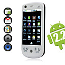 h6 Android 2.2 systme de double carte wifi tv cran tactile 3.2inch tlphone portable  puce (carte 2GB TF) (sz00721048)