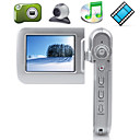 "HD 640x480 5MP 4XDigital Zoom Digital Video Camera with 2.4"" LCD Screen MP3 MP4 PC Camera Function (DCE1125)"