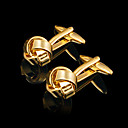 Irregular Zinc Alloy Cufflinks Groom Wear Accessories (1174-11CL-0047)