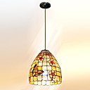 11 Inch Tiffany-style butterfly Shape Natural shell Material Pendant Light (0835-D8008)