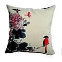 Cushion Cover - Ink Painting Bird II
