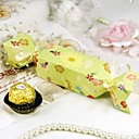 Garden Print Candy Wrapper Style Favor Box (Set of 12)
