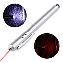 3-in-1 CapacitiveTouchpad Stylus + LED Flashlight + Laser Pointer for iPhone and iPad (Silver)