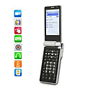Dual SIM 3.0 Inch Flip Cell Phone (Dual Camera MP3 MP4 Player)