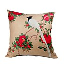 Cushion Cover-Brush Painting bird (1422)