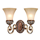 Upward 2-lightFabric Wall Sconce