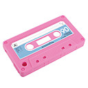 Cassette Style Silicon Case for iPhone 3 (Rose Pink)